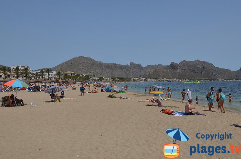 Grande plage de Port-Pollenca - Majorque