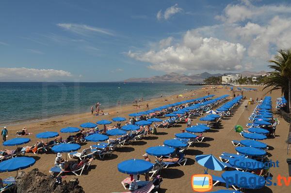 Plage privée à Lanzarote