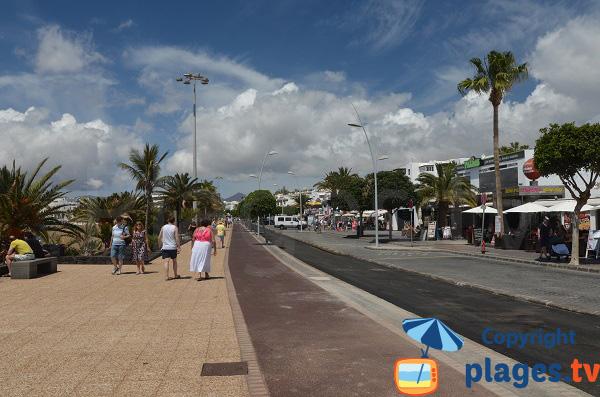 Front de mer de Puerto del Carmen