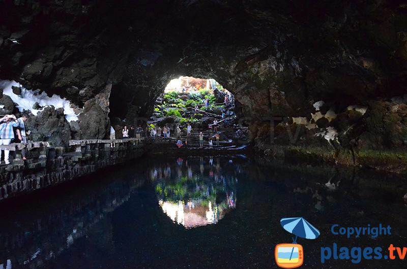Grotte subaquatique à Lanzarote - Jameos del Agua