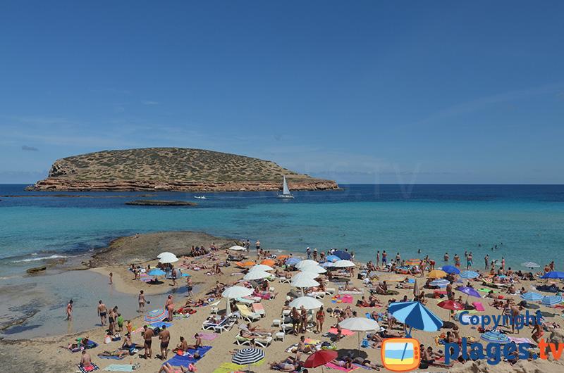Cala Comte à Ibiza
