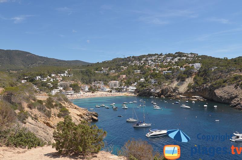 Cala Vadella - la plage familiale d'Ibiza