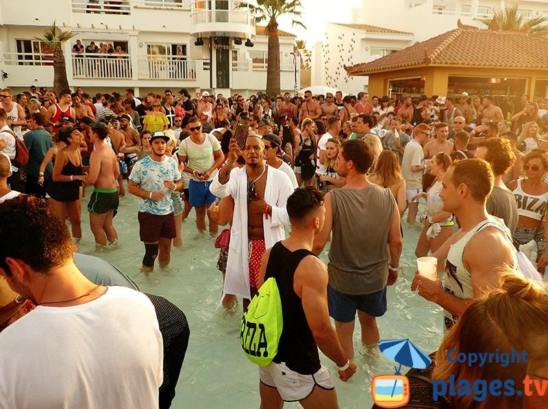 Ibiza une soirée en discothèque