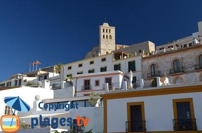 Ibiza: la vieille ville