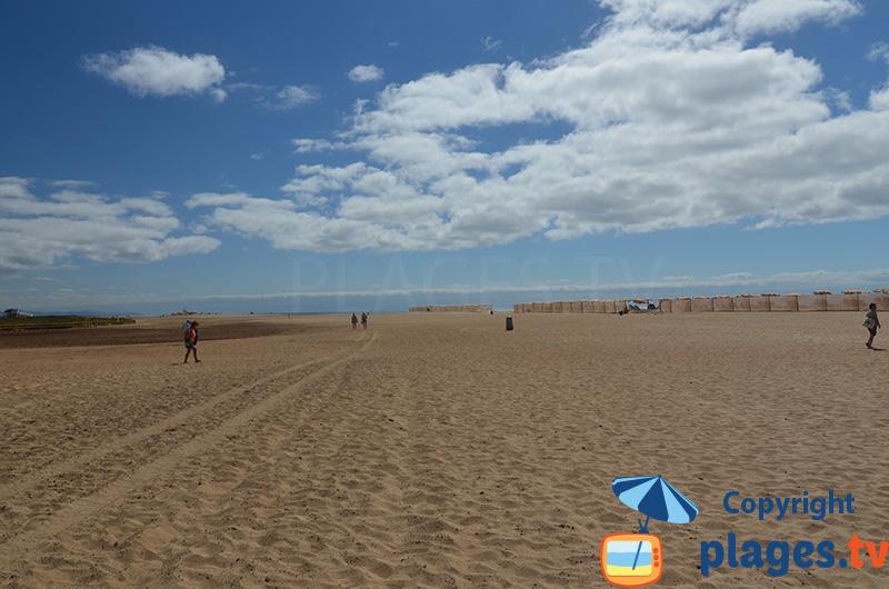Grande plage de Morro Jable