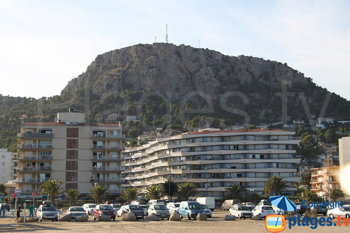 Immeubles des années 60 à l'Estartit