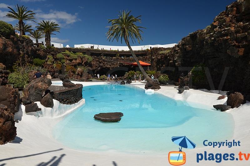 Jameos del Agua à Lanzarote - La piscine