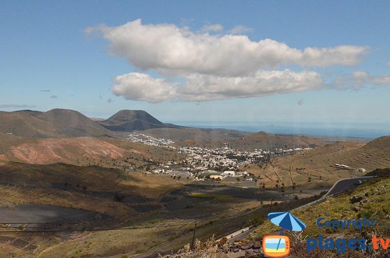 Lanzarote des paysages volcaniques