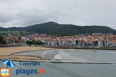 Lekeitio dans le Pays basque espagnol