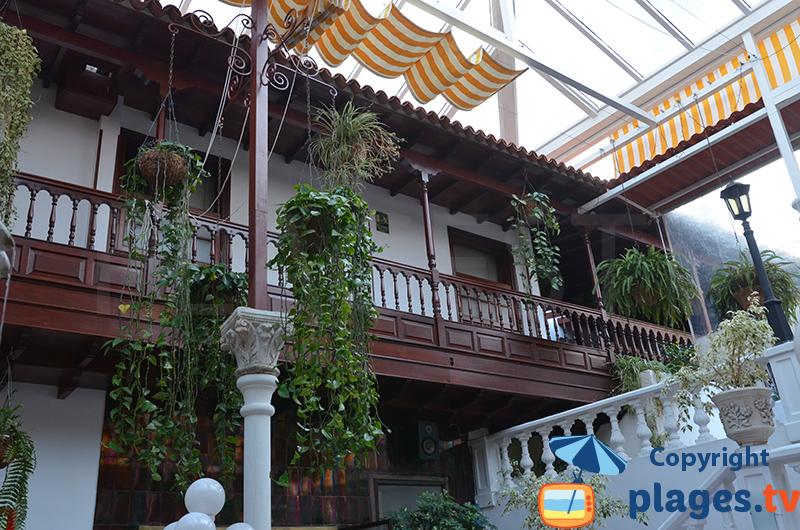 Maison de style canarien à Puerto de la Cruz