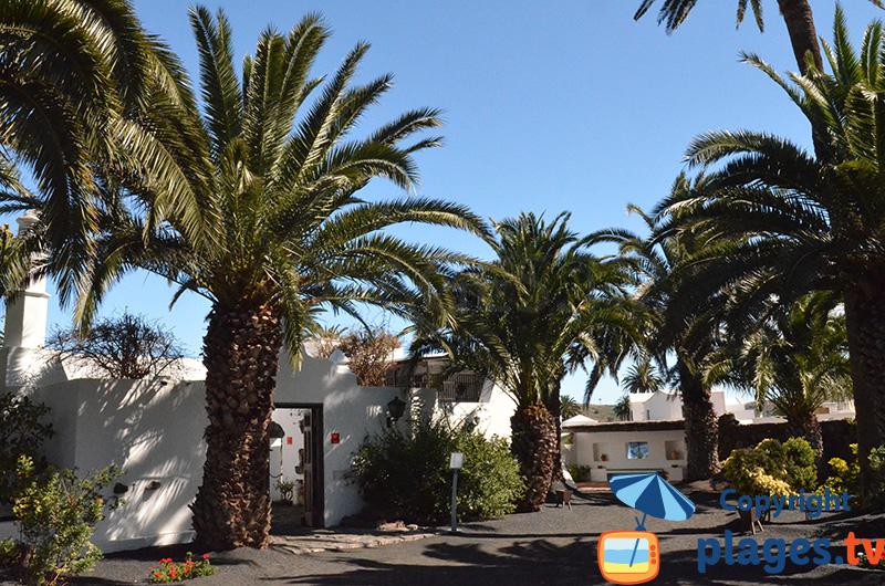 Architecture des maisons à Lanzarote - Haria