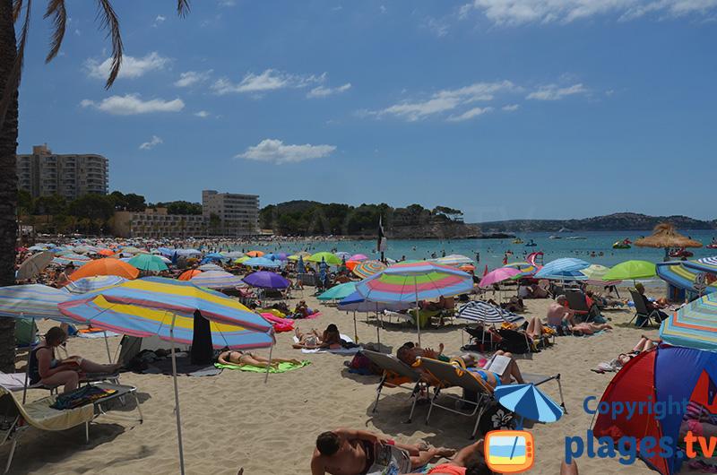 Palmira : une belle plage au sud de Majorque