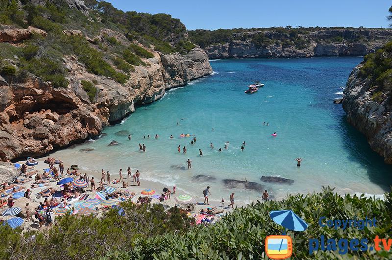 Majorque - La plus belle crique - Calo des Moro