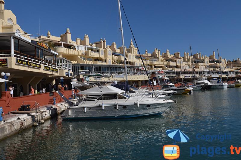 Marina de Benalmadena en Andalousie