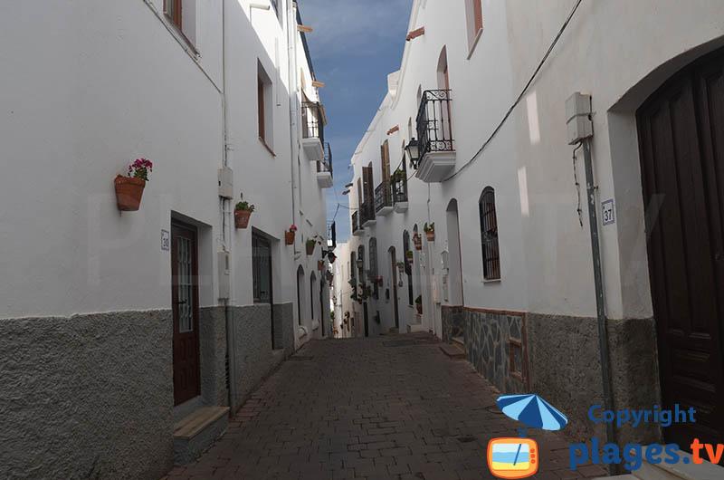 Ruelle dans le vieux Mojacar - Espagne