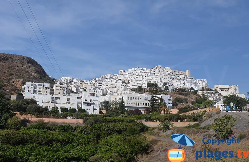 Mojacar l'un des plus beaux villages de l'Andalousie