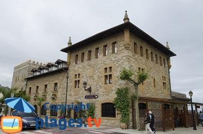 Architecture de Zarautz dans le pays basque espagnol