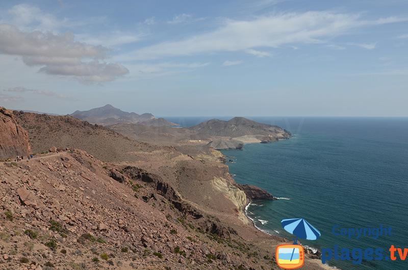 Parc de Cabo de Gata Nijar partie sud