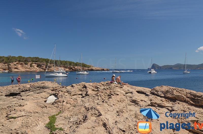 Sant Josep de sa Talaia bord de mer côté nord - Ibiza
