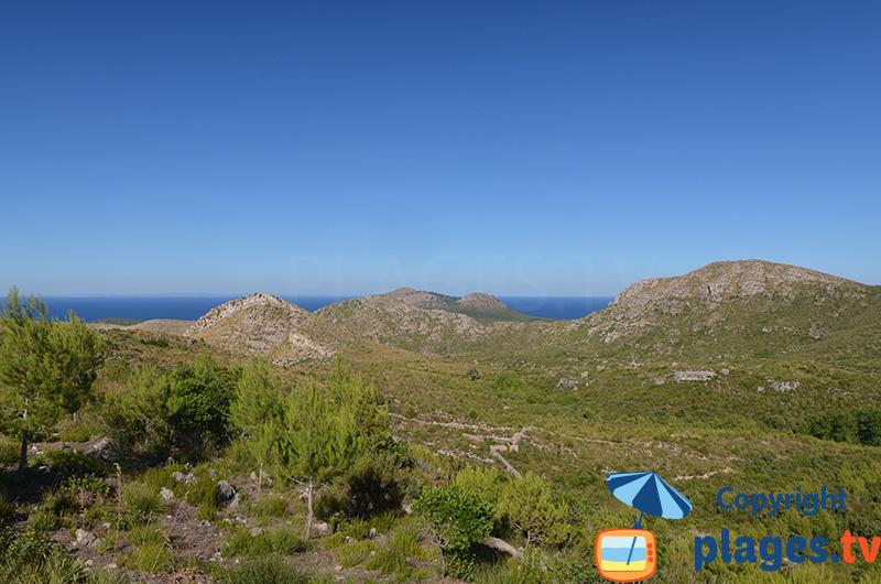 Paysage au nord-est de Majorque