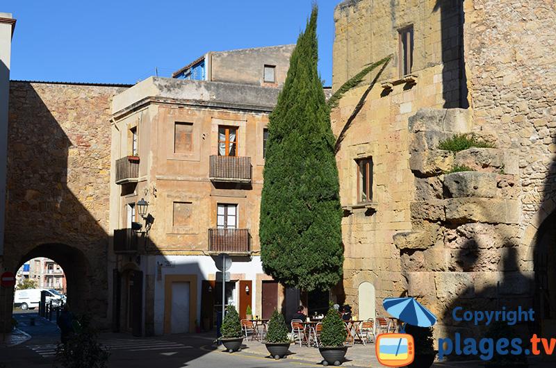 Placette dans la vieille ville de Tarragone