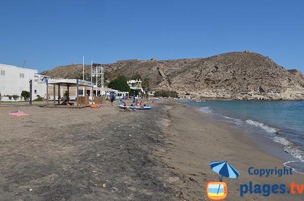 Poste de surveillance - Plage Agua Amarga en Andalousie - Espagne