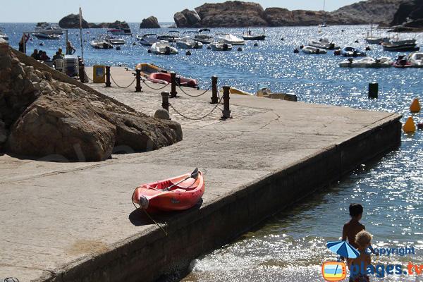 Diving Spot in Begur in Spain