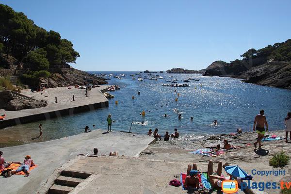 Aiguafreda beach in Begur - Spain