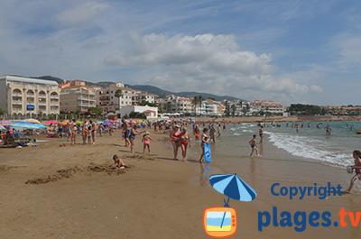 Plage à Alcossebre en Espagne