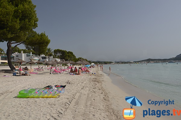 Plage entre Playa de Muro et Port d'Alcudia - Baléares