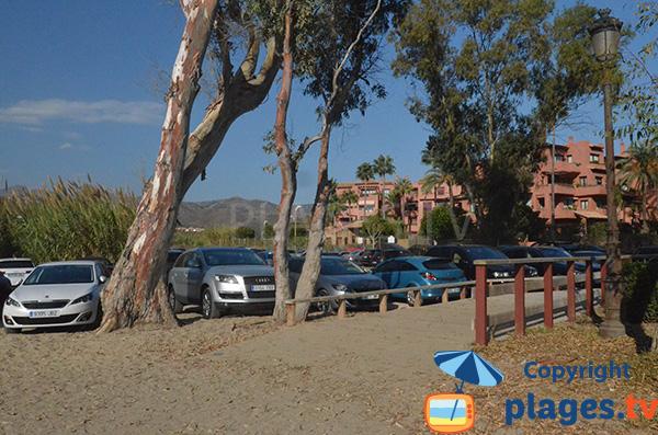 Parking de la plage Alicate - Marbella