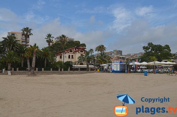 Belle villa au bord de la plage de Benicassim