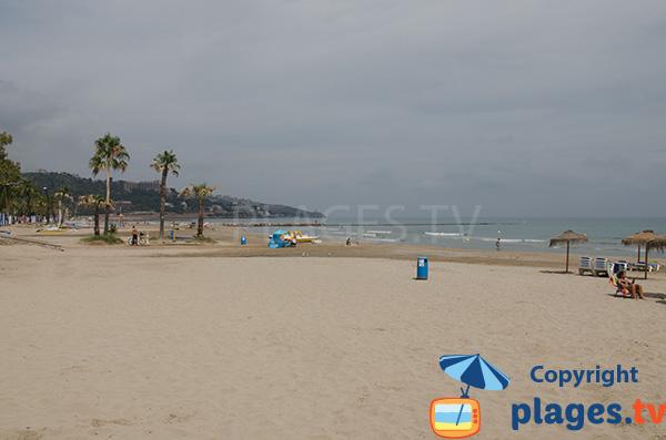 Photo de la plage de Voramar à Benicassim