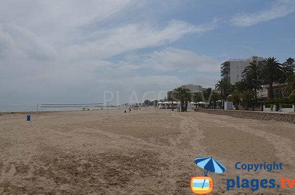 Photo de la plage Almadrava à Benicassim - Espagne
