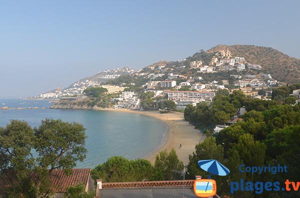 Photo of Almadrava beach in Roses - Spain