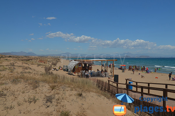 Plage sauvage à proximité d'Alicante - El Altet