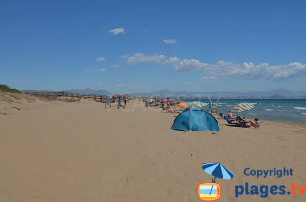 Plus belle plage à proximité d'Alicante