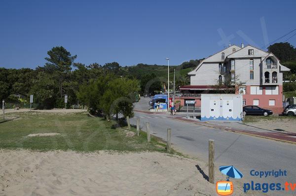 Hotels et campings à côté de la plage de l'Arena - Isla