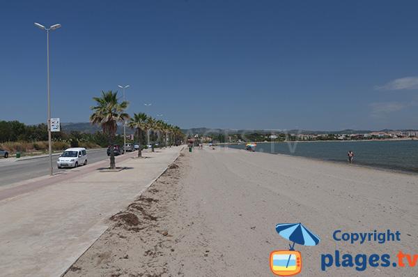 Photo de la plage de l'Arenal à l'Ampolla - Espagne
