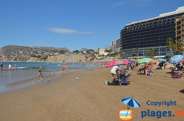 Hôtel en bord de plage à Calpe - Espagne