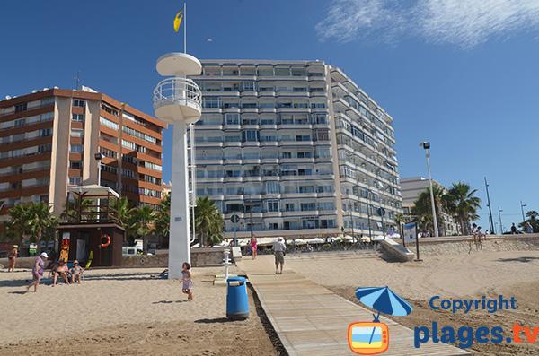 Immeubles sur le front de mer de Calpe - Alicante