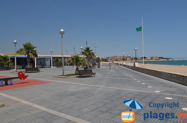 Esplanade de la plage de l'Arenal - l'Hospitalet de l'Infant
