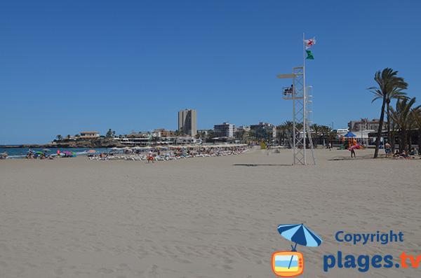 Photo de la plage Arenal à Xabia - Javea - Espagne