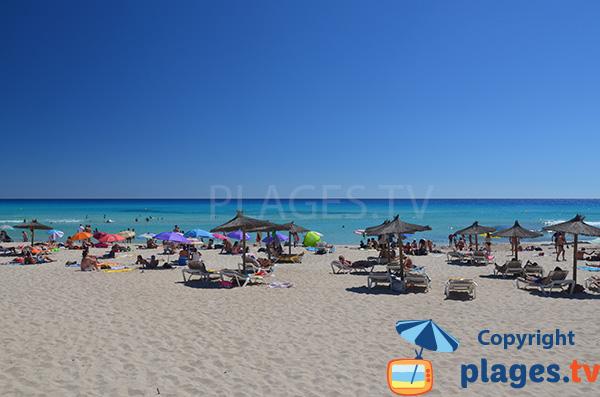 Photo de la plage Arenals à Playa Migjorn - Formentera