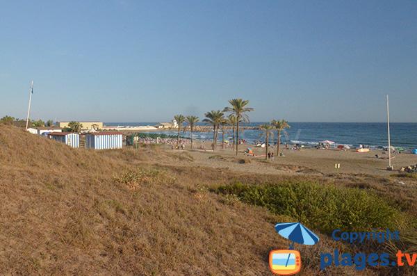 Photo de la plage de Cabopino à Marbella - Espagne