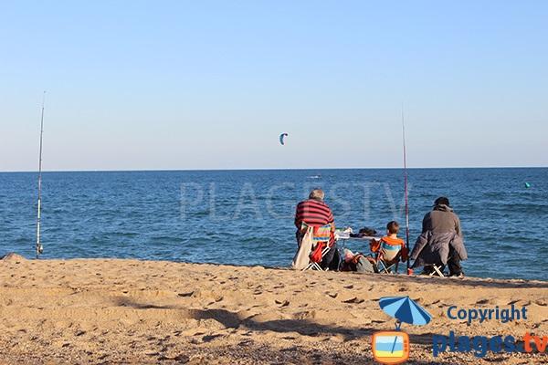 Pêche à Badalona