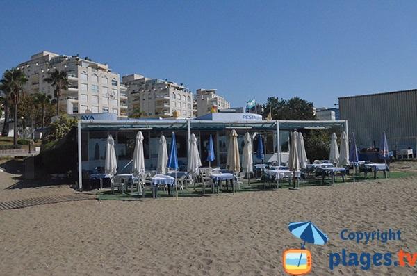 Restaurant sur la plage de Bajadilla - Marbella