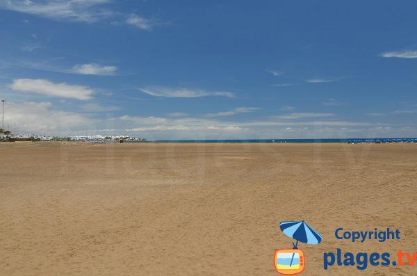 Barranquillo beach in Puerto de Carmen - Lanzarote