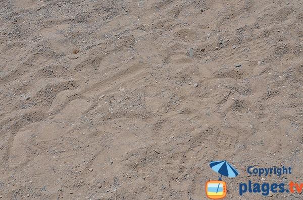 Sable de la plage de Benirras