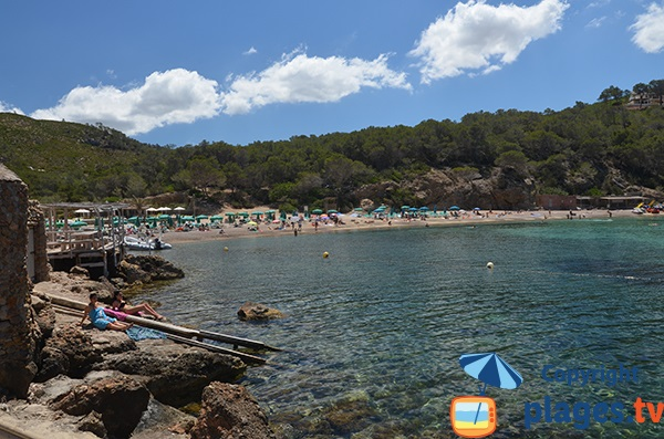Plage de Benirras - Nord d'Ibiza